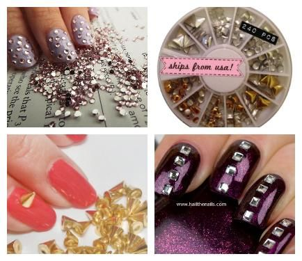 Nail Tips: Where to Buy Nail Studs and 3-D Nail Accessories | NailIt! Magazine