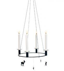 CRUX Xmas er en smuk og minimalistisk design adventsstage du kan bruge jul efter jul · dansk design julepynt