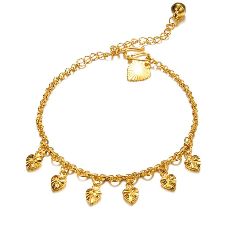 gold w pure anklet nickel women get aliexpress lead wholesale summer mm and free buy love shipping com on heart for anklets
