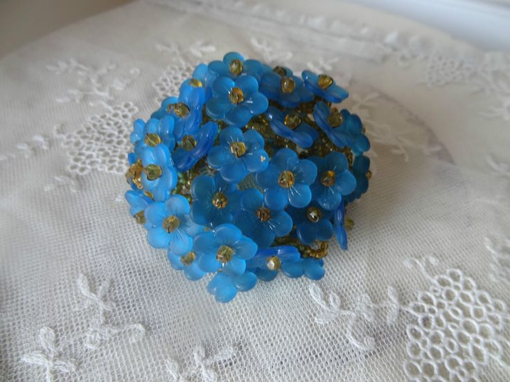 Assured, vintage glass flower beads can help