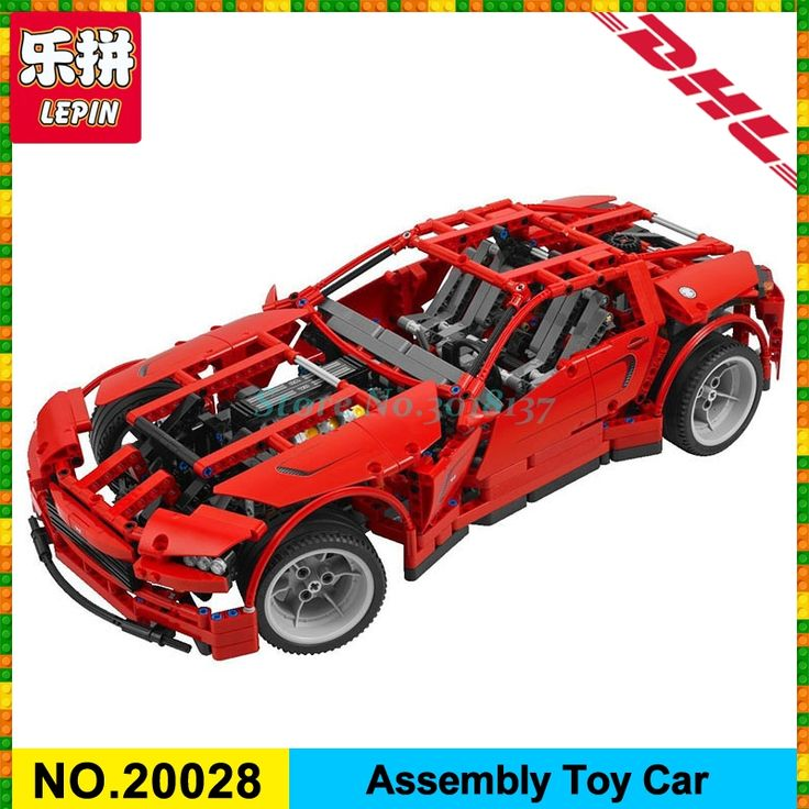 LEPIN 20028 Technic series Super Car assembly toy car model DIY brick building block Funny toy gift for boy New Year gift 8070 #Affiliate