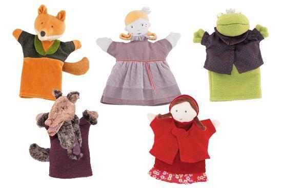 Marionnettes Il était une fois Moulin Roty