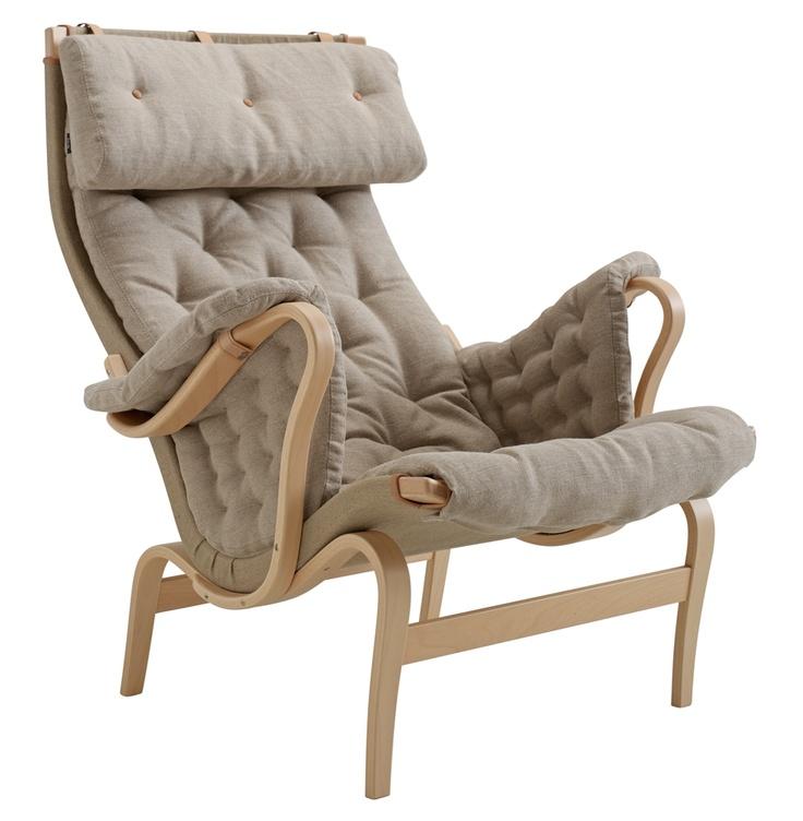 Pernilla 69 armchair from DUX. Design by Bruno Mathsson. #armchair #classics