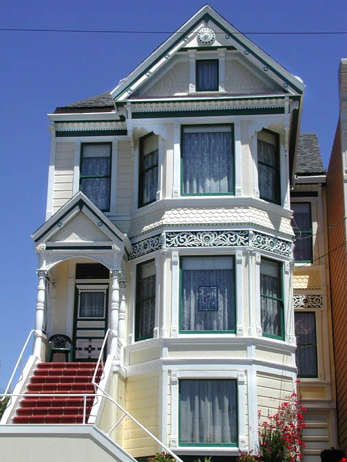 507 best images about beautiful victorian houses on for Houses in san francisco