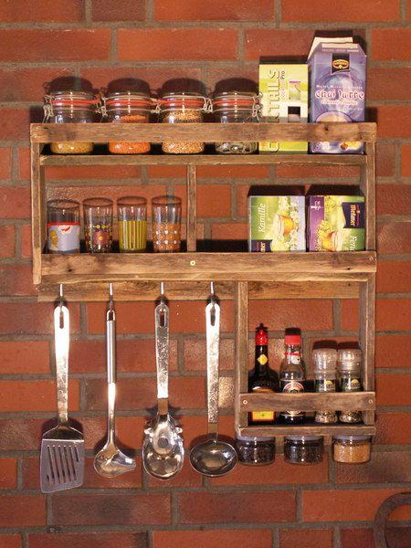 Gewürzegal L-Form aus Palettenholz # 2 von GOGO ALI auf DaWanda.com