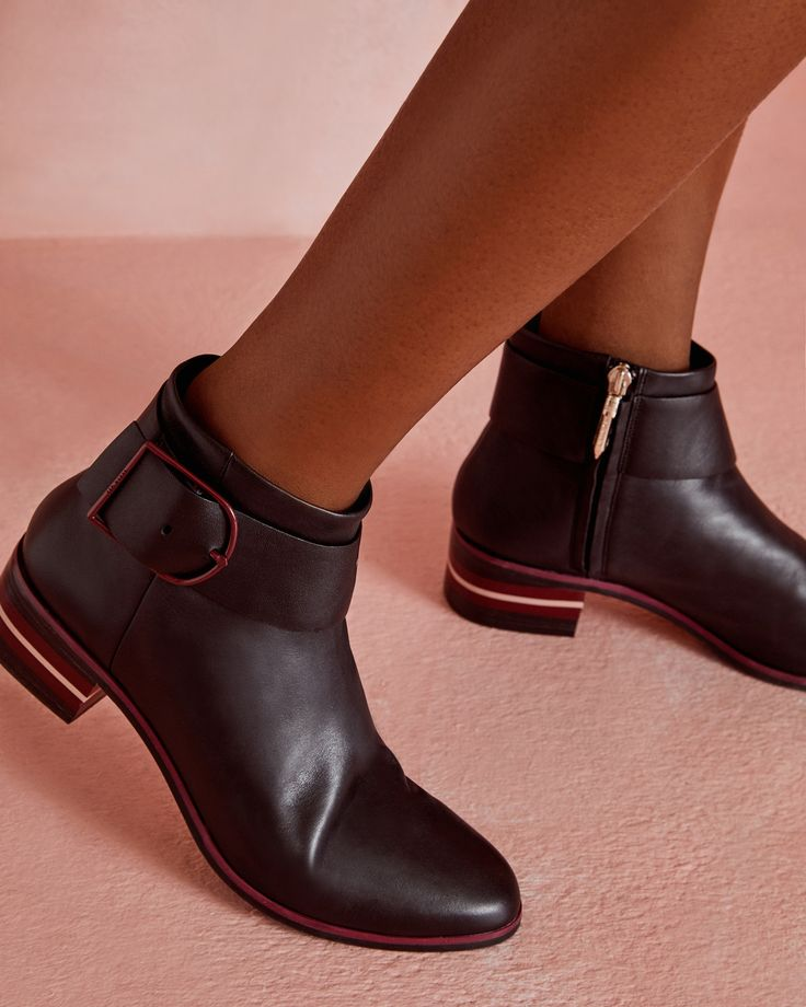 Ted Baker Buckled leather Chelsea boots