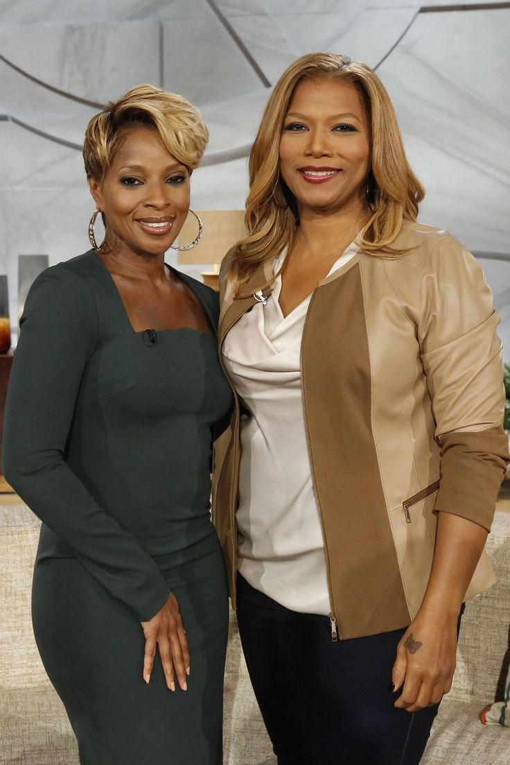 Queen Latifah The one and ONLY Mary Jane Blige came to hang out with me on QLShow today !   #QueenLatifah  #QueenLatifahShow  #MJB  #MaryJaneBlige  #MaryJBlige  #QLShow