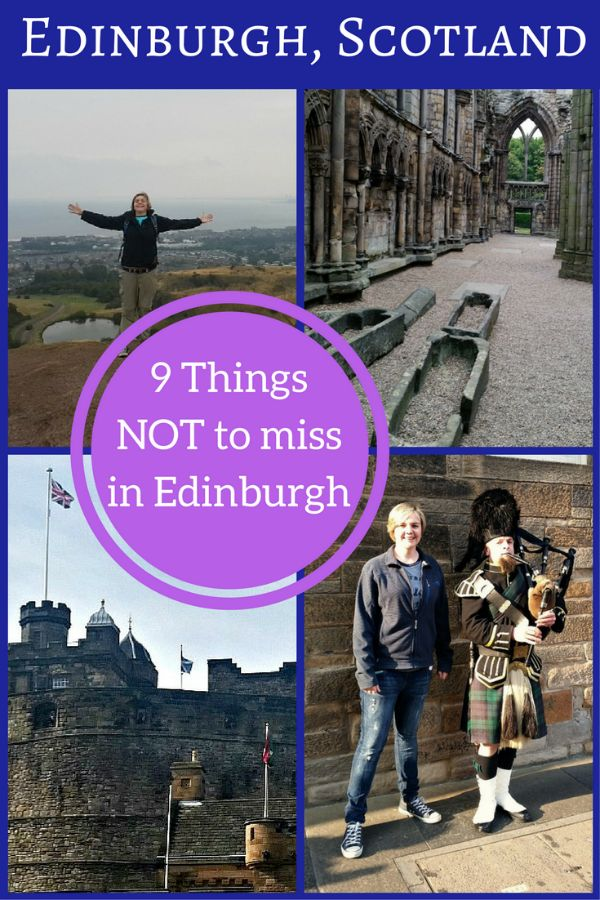 Edinburgh is more than just beautiful architecture, Gothic buildings & medieval cobblestone streets. Here are 9 things not to miss during your visit! #scotland #edinburgh #souldrifterstravel
