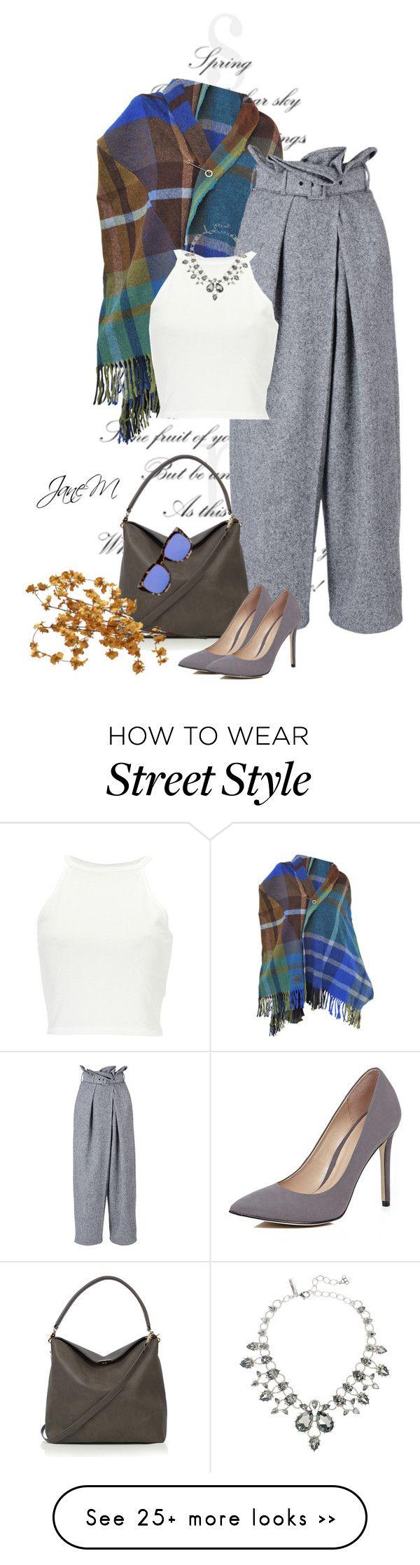 """Street style"" by janemichaud-ipod on Polyvore featuring moda, Vivienne Westwood, STELLA McCARTNEY, Oasis, River Island, Oscar de la Renta, Le Specs y Pier 1 Imports"