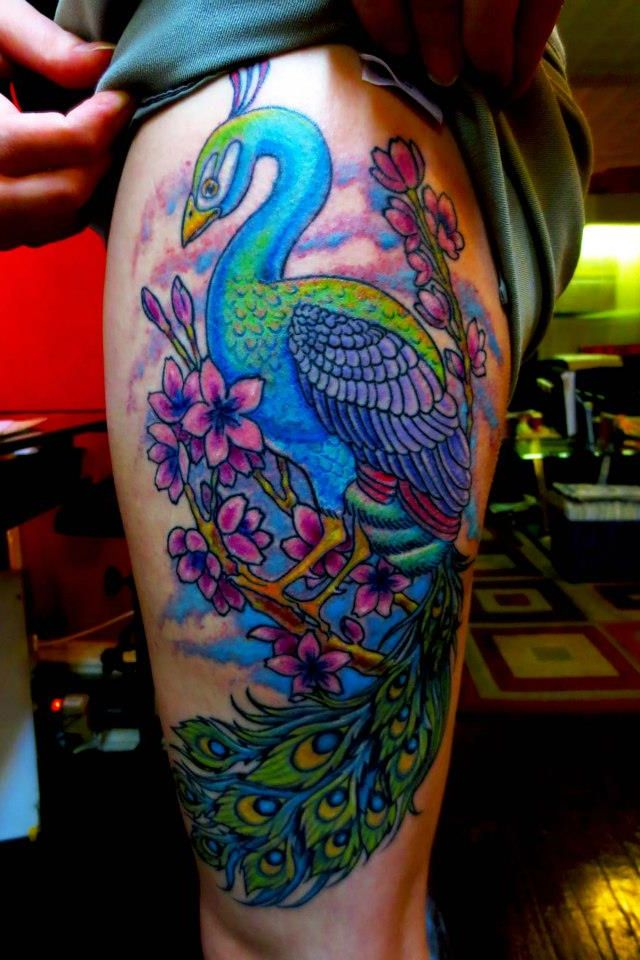 17 best images about peacock tattoos on pinterest. Black Bedroom Furniture Sets. Home Design Ideas