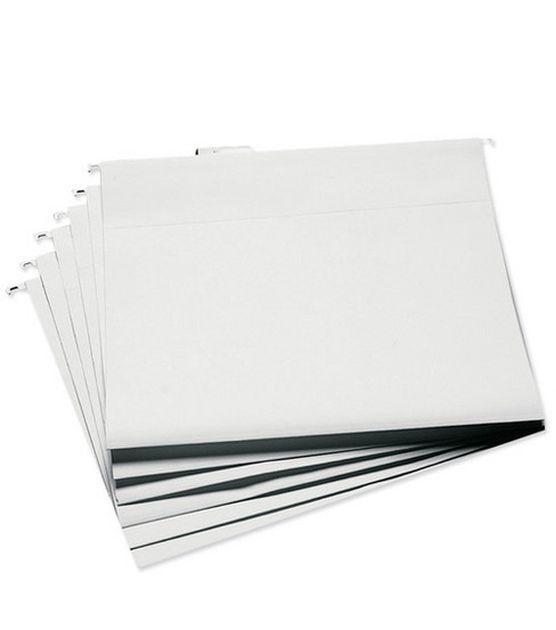 Cropper Hopper Hanging File Folders 13''x14'' 6/pkg-White at Joann.com - Perfect for scrapbook paper?