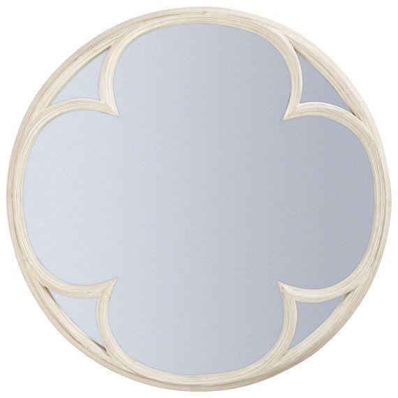 Clover Mirror Shape Quatrefoil And Spring