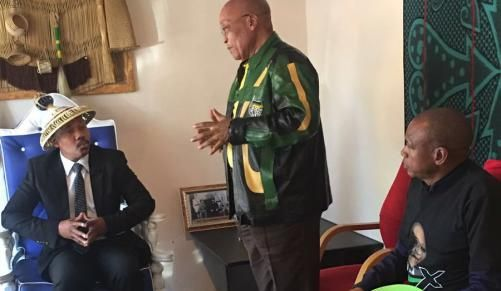 Zuma gets hero's welcome in Brits | IOL