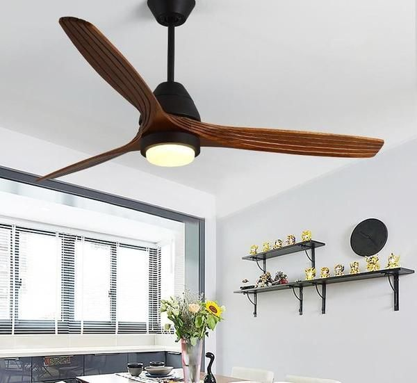 Modern Nordic Ceiling Fan With Led Light In 2020 Ceiling Fan Modern Luxury Lighting Led Lights