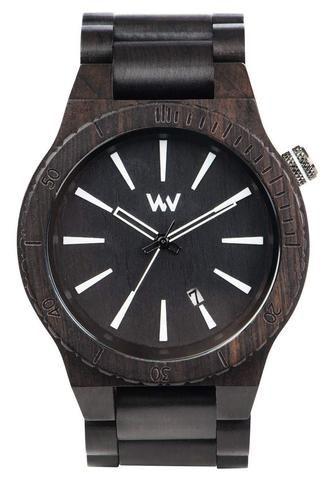 Wooden watch Assunt Black