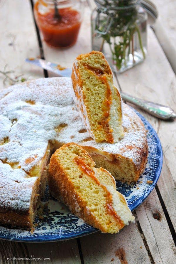 Questo genere di torte per me è il massimo: morbida, farcita e genuina come la più semplice delle ciambelle casalinghe.   ...Si tratta ...