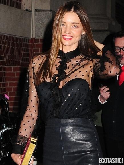 Miranda Kerr se ve en NYC