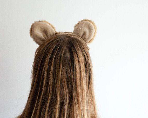 Traje de León orejas de León y cola de León infantil o de
