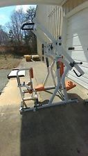 Hammer Strength Combo Unit Chest / Back Commercial Gym Equipment
