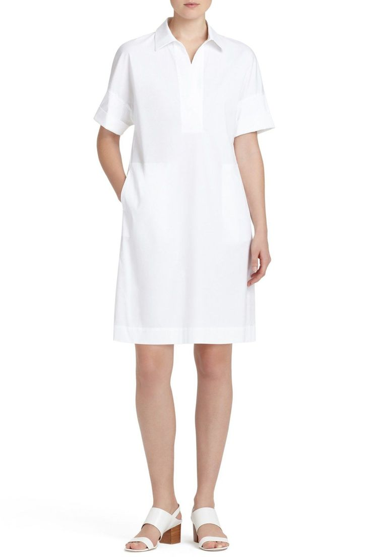 Mitra Stretch Shirtdress