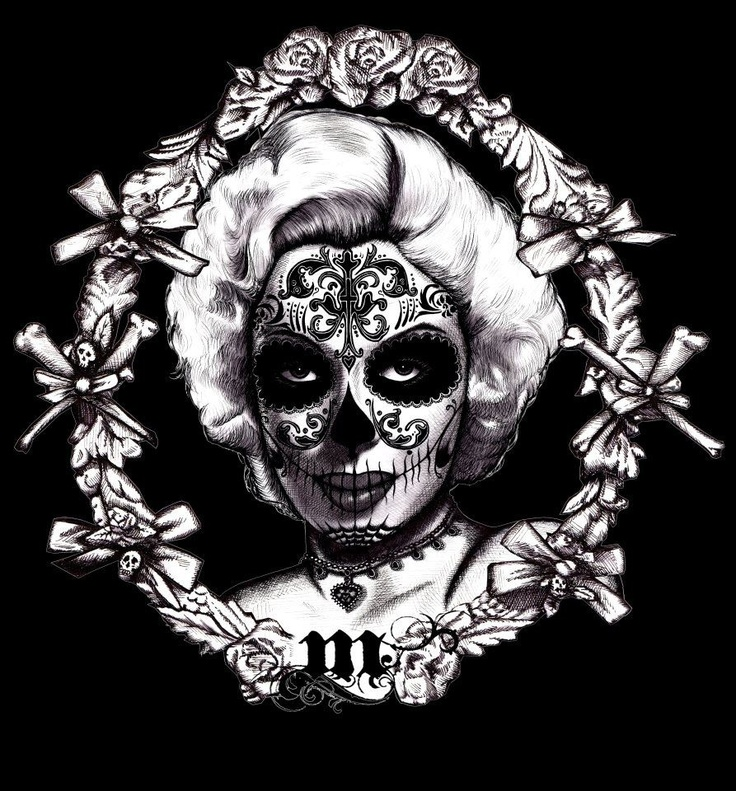 Sugar Skull Marilyn: Galleries, Calaverassugar Skull, Calavera Sugar Skull, Gratia Artis, Calaveras Sugar Skull, Skull Marilyn