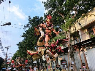 あさみのバリ倶楽部ブログ: 初めてバリ島のお正月『ニュピ』を体験して思ったこと