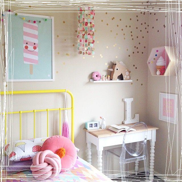Kinderkamer meisje thema ijs