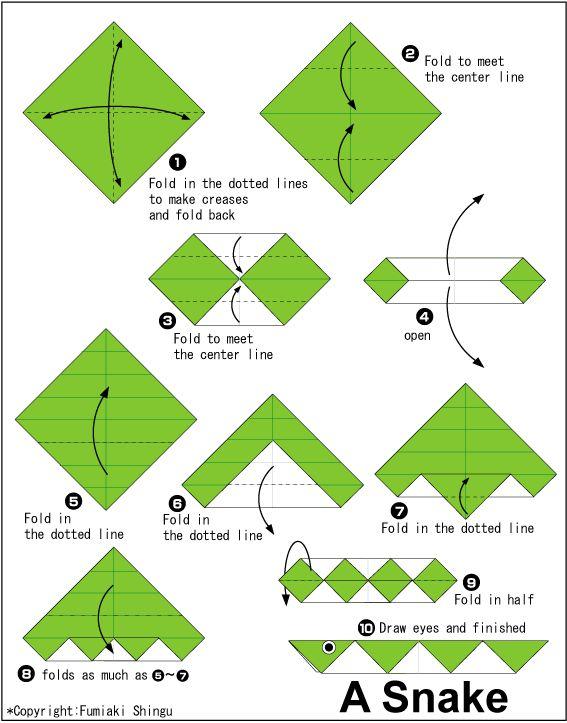 origami snake