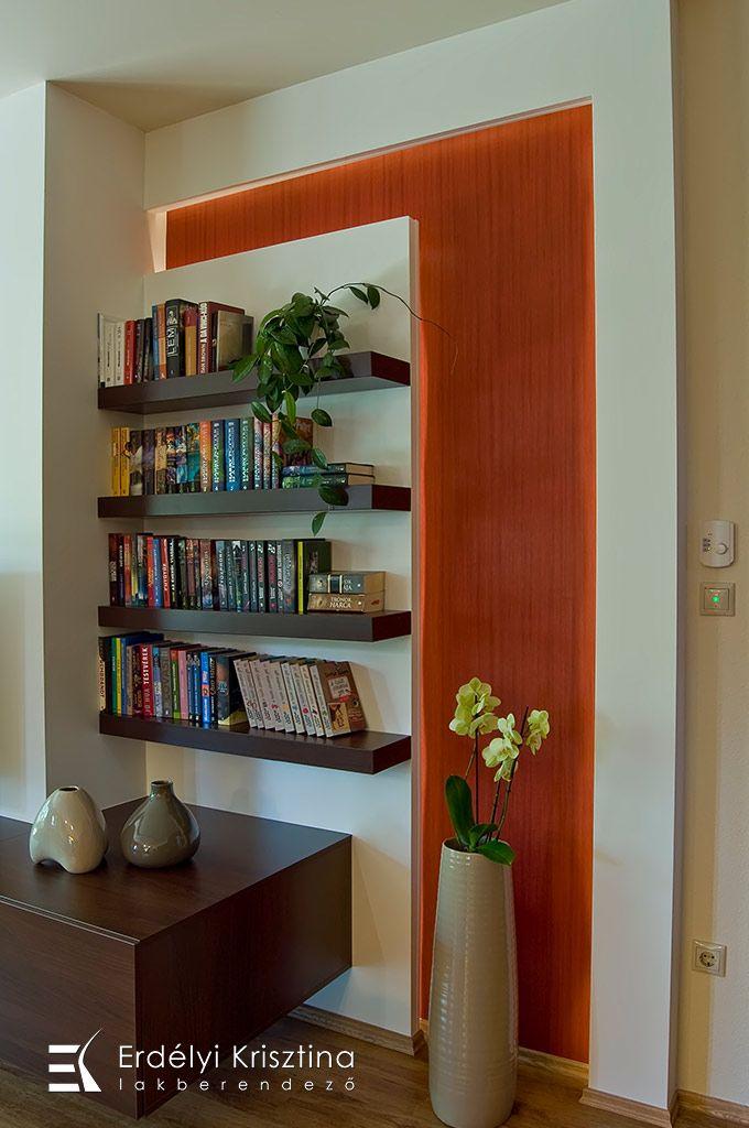 Nappali ötletek - Modern mediterrán nappali - belsőépítészeti és lakberendezői munkák