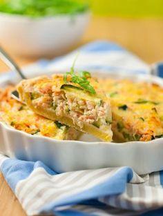 Recette - Quiche au saumon et St Môret - Notée 4.3/5 par les internautes