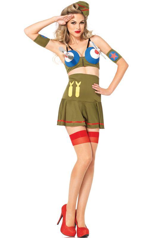 Bomber Girl Adult Costume | 2014 Costume Picks | Sexy ...