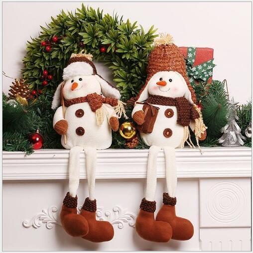 Aliexpress.com: Comprar 2017 Figuras de Navidad decoración de Navidad Muñeco de Nieve de Navidad Decoraciones para el Hogar Decoraciones de Año Nuevo Regalo de Navidad de christmas decorations fiable proveedores en FENGCHAO Store