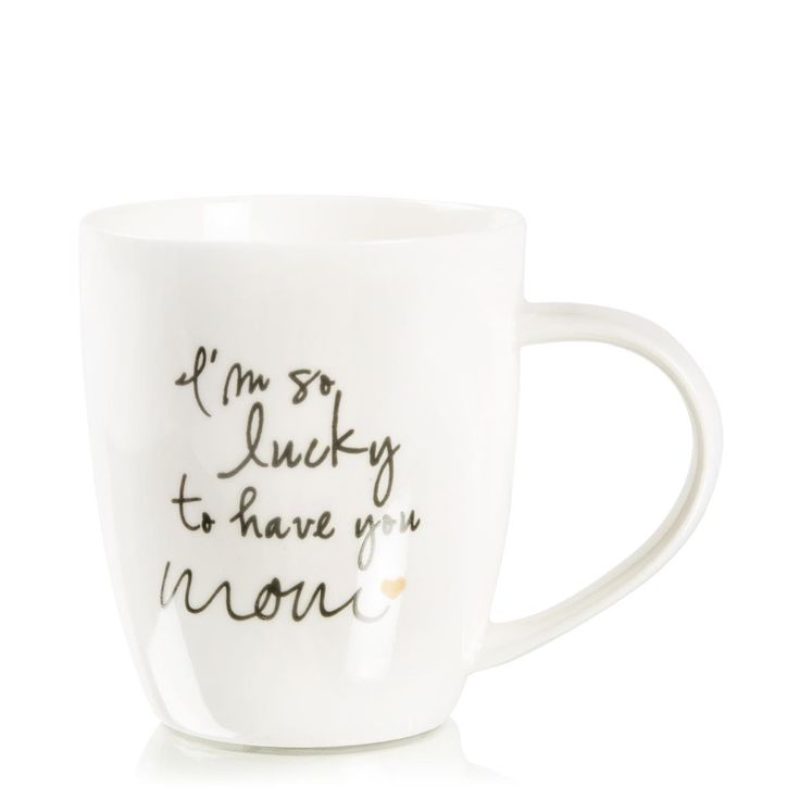 Lucky To Have You Mom Mug #woolworthssa #mothersday #wishlist
