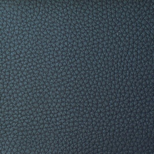 Capella Faux Leather Upholstery Fabric - Metallic faux leather upholstery fabric in Teal. Suitable for Domestic and Contract upholstery.
