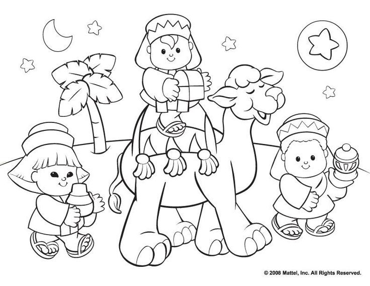 Free Christian Christmas Coloring Sheets Printable With Kwanzaa Pages For KidsFree