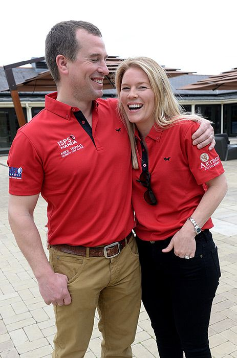 Zara and Mike Tindall in high spirits during charity golf tournament - Photo 1   Celebrity news in hellomagazine.com