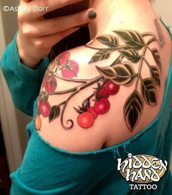 Tomato Vine - Ashley Dorr - Hidden Hand Tattoo