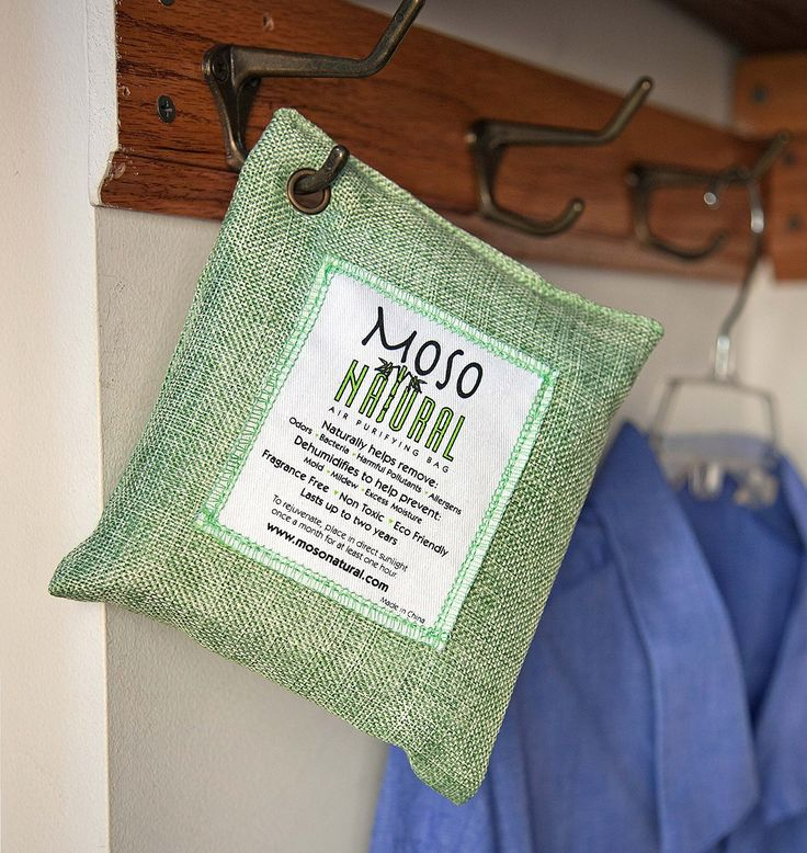 Moso Natural Air Purifying Bag, Charcoal Color