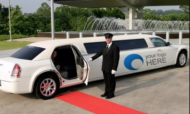I Will Put Your Logo Or Message On 3 LIMOUSINE