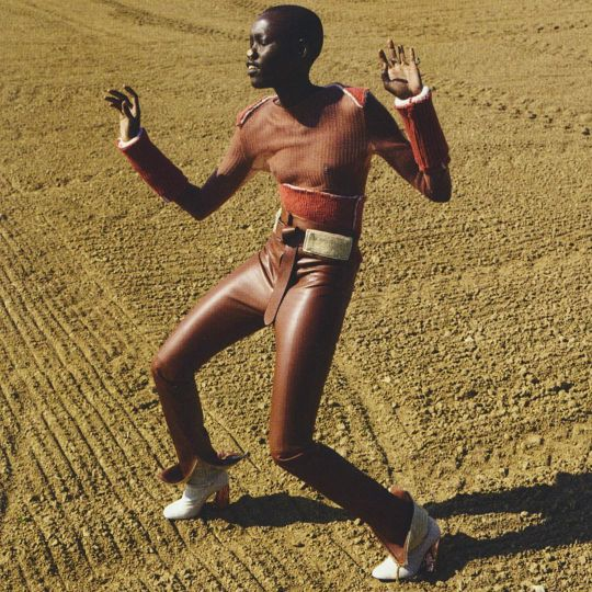 Grace Boi photographed by Viviane Sassen, styled by Vanessa Reid for Pop magazine F/W 2015/16