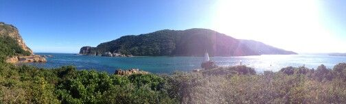 The knysna heads and lagoon