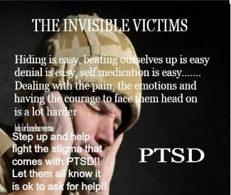 Ptsd Help Fight The Stigma Let Our Veterans Know It Is Okay 2