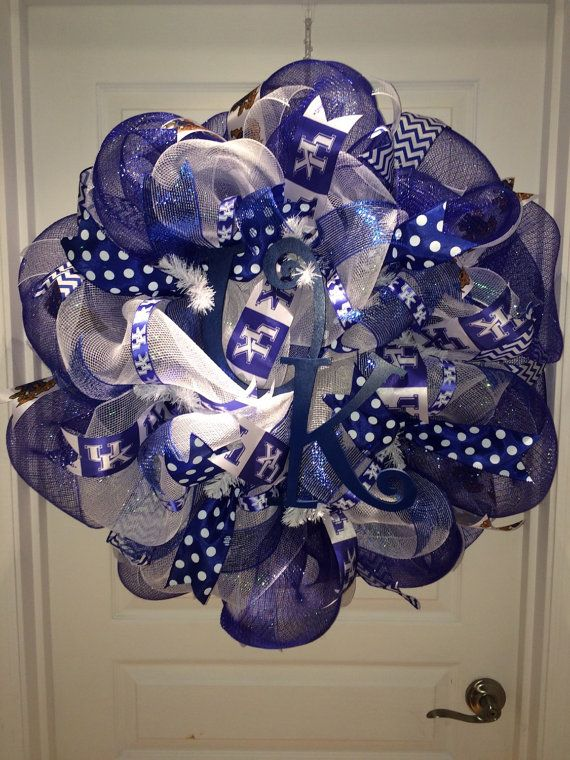 101 Best Images About Diy Kentucky Wildcat Trees Amp Wreaths