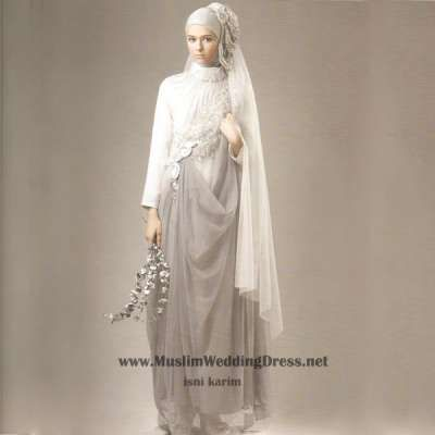 islamic wedding gown
