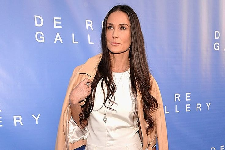 Demi Moore: Hollywood actress Demi Moore donned menswear