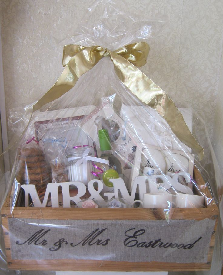 Ideas For Wedding Gift Hamper : ... Wedding gift ideas on Pinterest Friend wedding, Gifts and Antiques