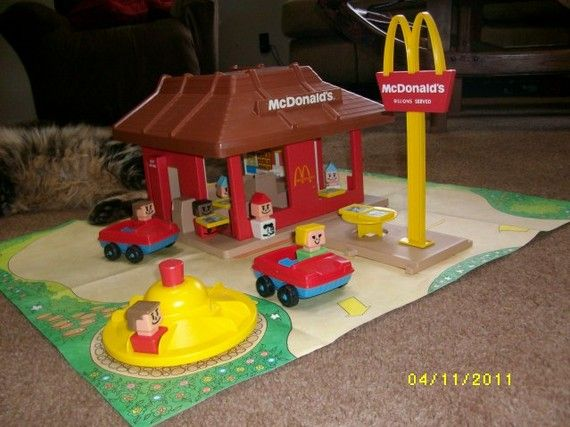 Toys For Restaurants : Best images about mcdonalds restaurant project on