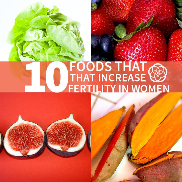 10 Foods to help increase fertility (and libido) in women!