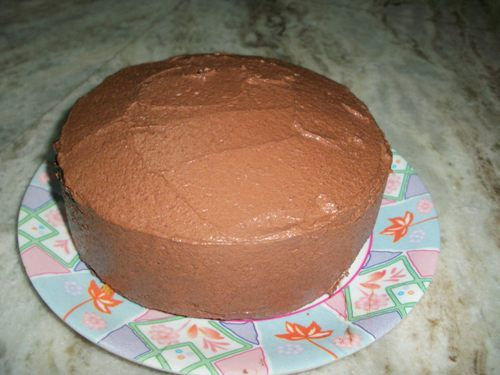 Chocolate Butter Cream Icing