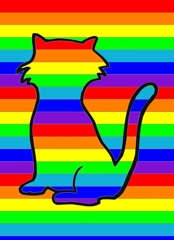Knutselen voor kinderen: Regenboog vormen kleuren